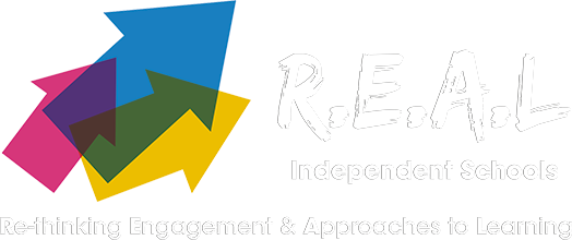 R.E.A.L. Independent School Logo